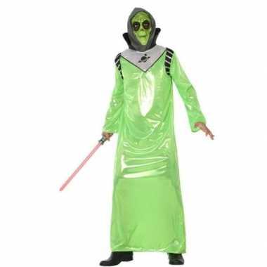 Goedkope alien verkleed kostuum volwassenen