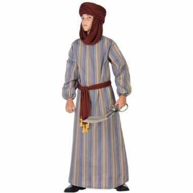 Goedkope arabische strijder ali verkleed kostuum/gewaad jongens