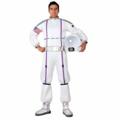 Goedkope astronauten verkleed pak/kostuum heren