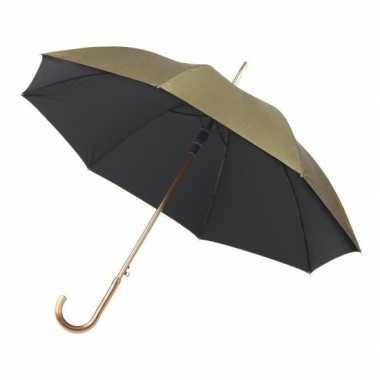 Goedkope automatische paraplu goud