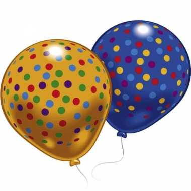 Goedkope ballonnen gekleurde stippen stuks