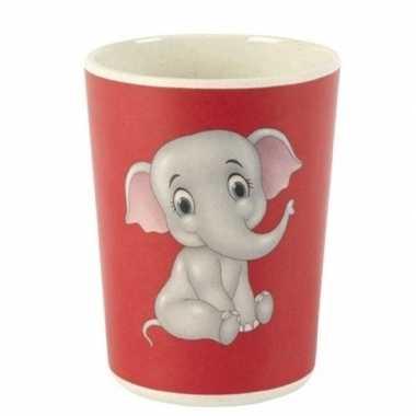Goedkope bamboe beker olifant kinderen