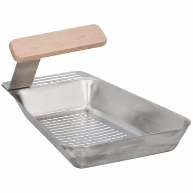 Goedkope barbecue pan rvs