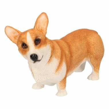Goedkope beeldje corgi hond