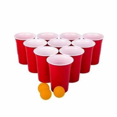 Goedkope beer pong spel