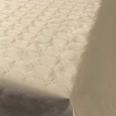Goedkope beige papieren tafellaken/tafelkleed rol