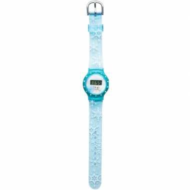 Goedkope blauw disney frozen digitaal horloge meisjes