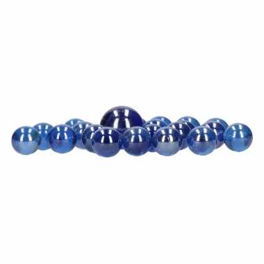 Goedkope blauwe kristal knikkers stuks