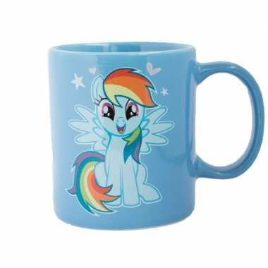 Goedkope blauwe my little pony mok/drinkbeker rainbow dash
