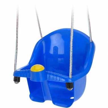 Goedkope blauwe peuterschommel touw