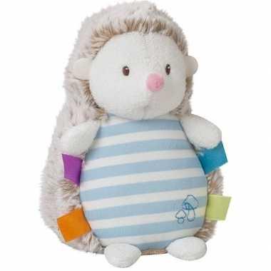Goedkope blauwe pluche egel knuffel speelgoed glow the dark