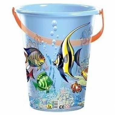 Goedkope blauwe speelgoed strandemmer vissen