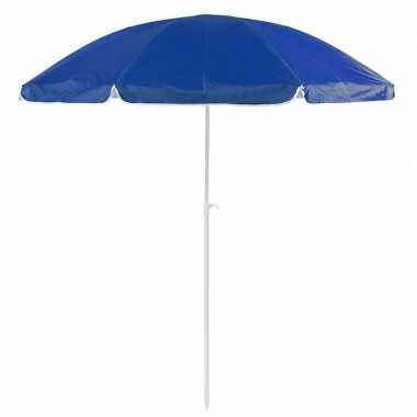 Goedkope blauwe strand parasol nylon