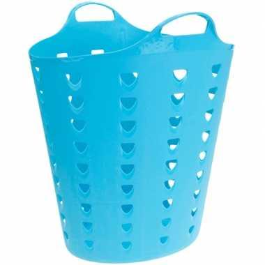Goedkope blauwe wasmand flexibel liter