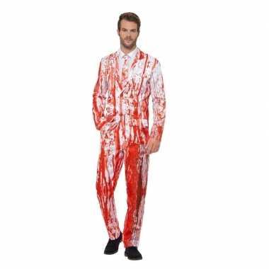 Goedkope bloederige smoking kostuum heren