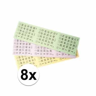 Goedkope blokken bingokaarten