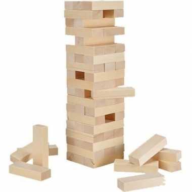 Goedkope blokken stapelen spel stuks
