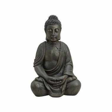 Goedkope boeddha beeld bruin
