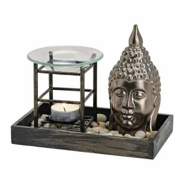 Goedkope boeddha hoofd oliebrander