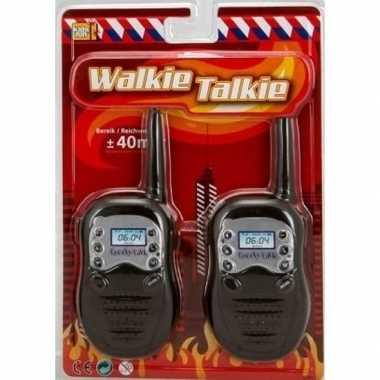 Goedkope brandweer walky talkie speelgoed kinderen