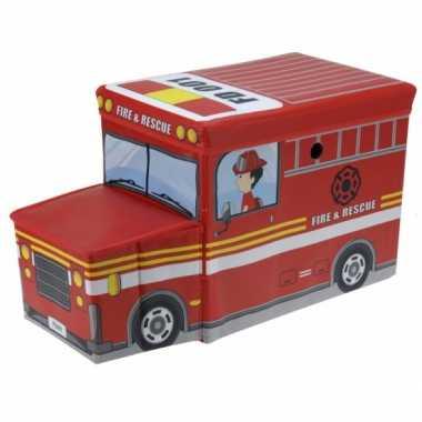 Goedkope brandweerauto opbergbox