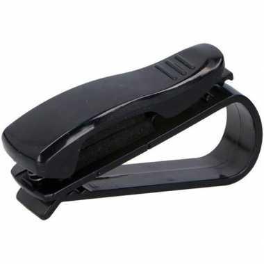 Goedkope bril clip/zonnebril klem auto zonneklep