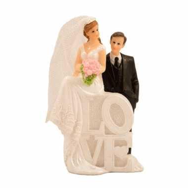 Goedkope bruidspaar poppetjes love type