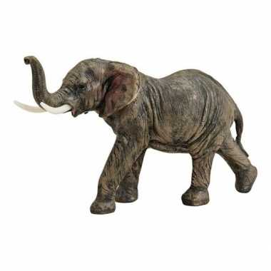 Goedkope bruin olifant beeldje