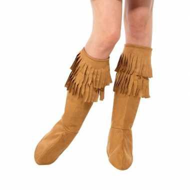 Goedkope bruine hippie schoenhoezen