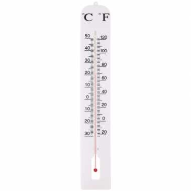 Goedkope buiten thermometer wit