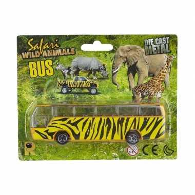 Bus safari speelgoedauto giraf goedkope