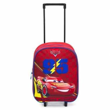 Goedkope cars handbagage reiskoffer/trolley kinderen