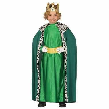 Goedkope caspar drie koningen/wijzen kerst verkleed kostuum
