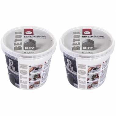 Goedkope creatief beton/betongietpoeder kg