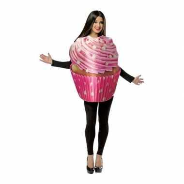 Goedkope cupcake kostuum volwassenen