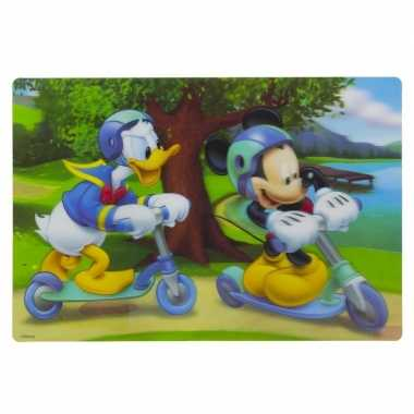 Goedkope d placemat mickey donald steppen