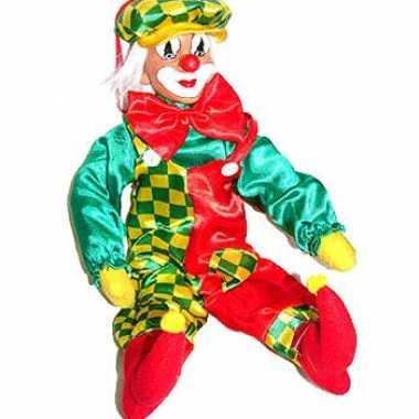 Goedkope decoratie clown
