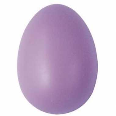 Goedkope decoratie eieren lila stuks