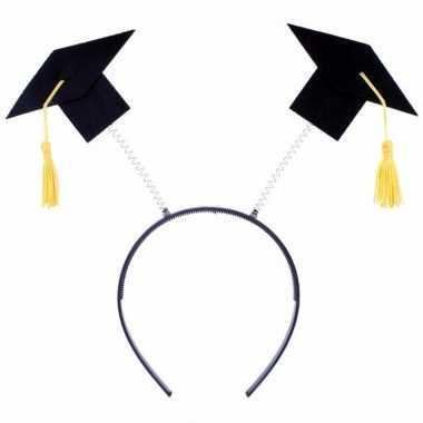 Goedkope diadeem twee afstudeer hoedjes