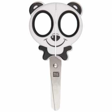 Goedkope dieren schaar panda gezicht ronde punt kinderen