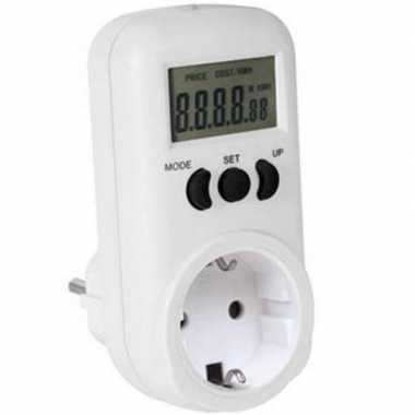 Goedkope digitale energiemeter tot maximaal watt