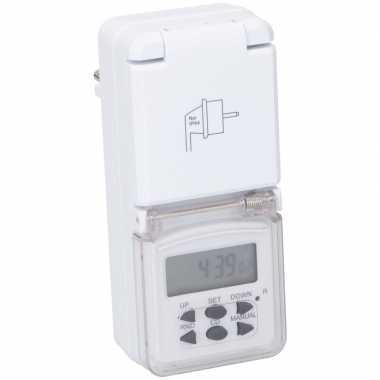 Goedkope digitale timer/tijdklok afdekklepje