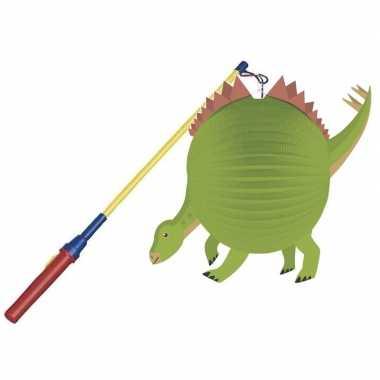 Goedkope dinosaurus bol lampion lampionstokje