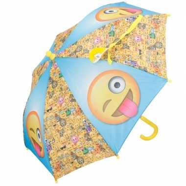 Goedkope disney kinder paraplu smileys