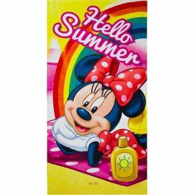 Goedkope disney minnie mouse summer badlaken/strandlaken