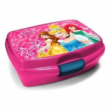 Goedkope disney princess lunchbox roze .