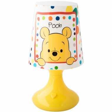 Goedkope disney winnie/tijgetje nachtlampje kleurwisselend led lamp