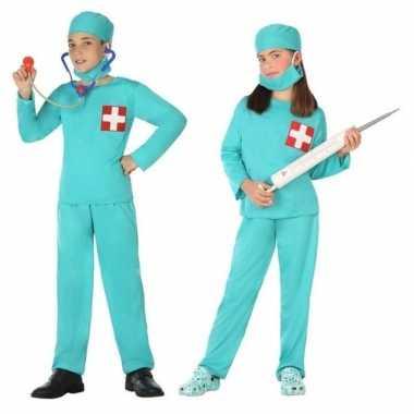 Goedkope dokter/chirurg verkleed kostuum jongens meisjes