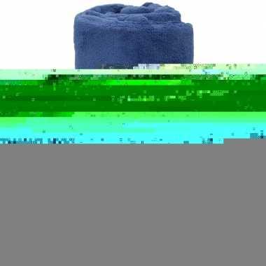 Goedkope donker indigo blauwe fleece deken