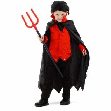 Goedkope dracula/vampier verkleed kostuum cape kinderen